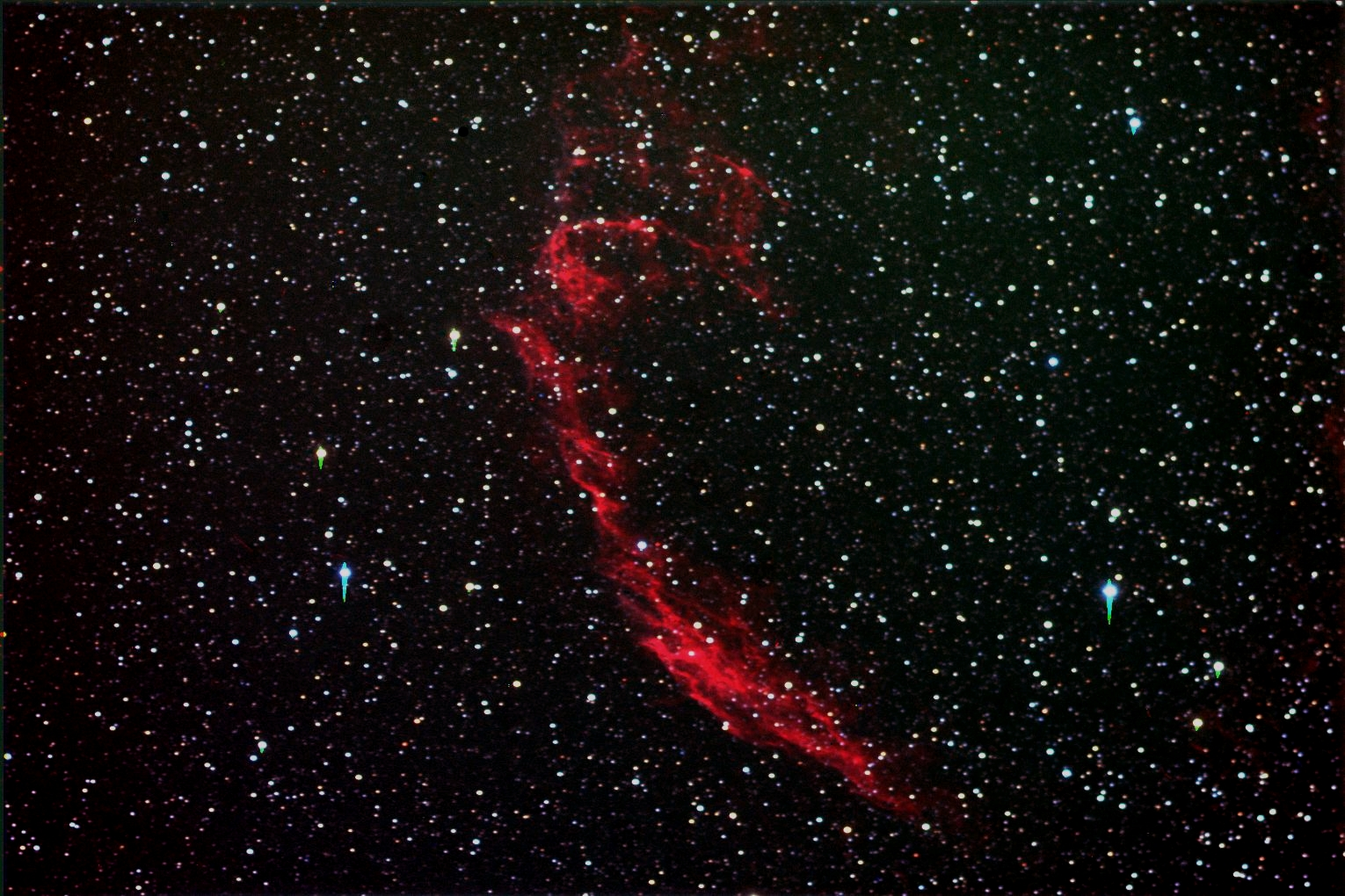 Eastern Veil Nebula HGBL