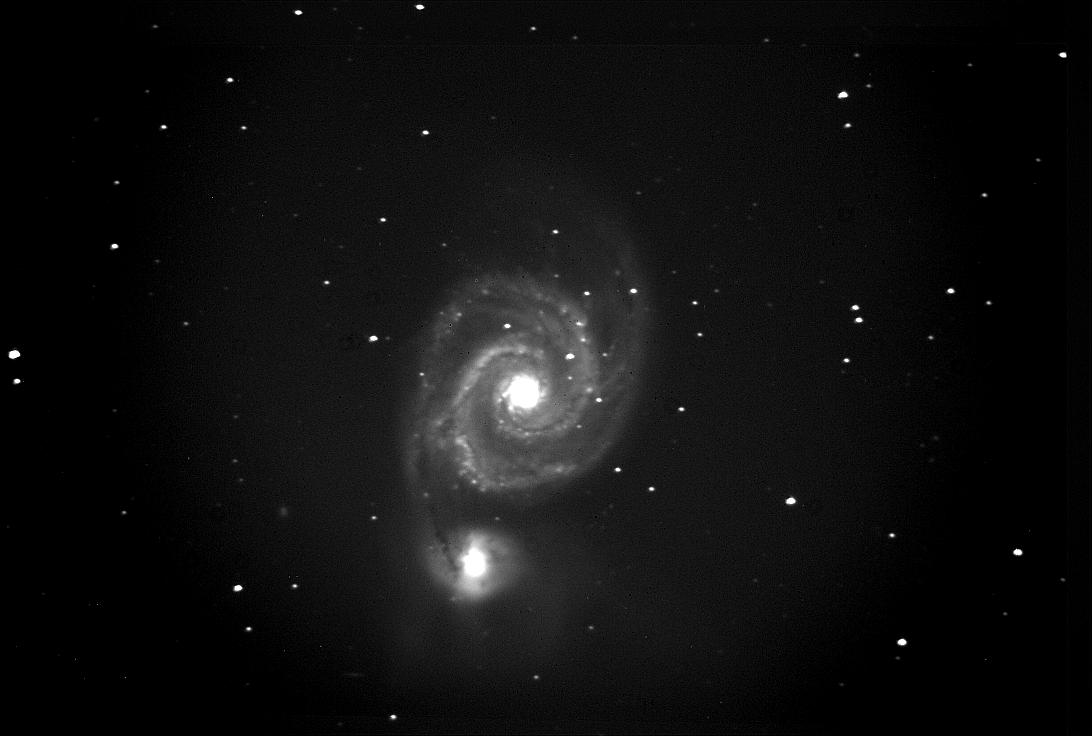 M51 from skylive telescope 4